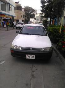 Toyota Corolla  1.6 GLI Aut usado (1996) color Blanco precio u$s4,200