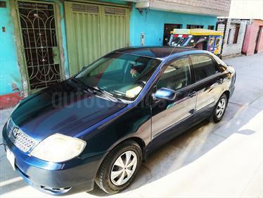 Toyota Corolla  1.6 GLI Aut usado (2003) color Azul precio u$s7,000