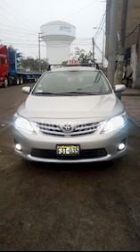 foto Toyota Corolla  1.6 GLI usado (2013) color Plata precio u$s11,500