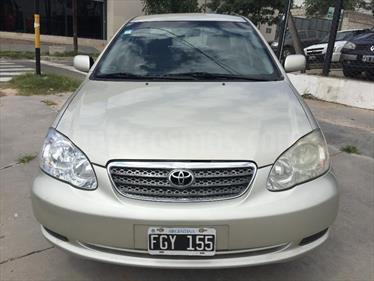 Foto venta Auto Usado Toyota Corolla 1.6 XLi (2006) color Gris Claro precio $175.000