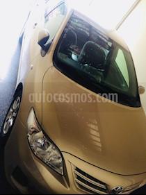 Toyota Corolla  1.6 XLI usado (2010) color Bronce precio u$s12,500