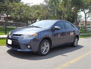 Toyota Corolla  1.8 Premium usado (2015) color Azul precio u$s16,600