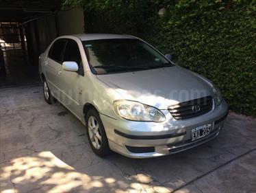 Foto venta Auto Usado Toyota Corolla 1.8 XEi (2004) color Plata precio $115.000