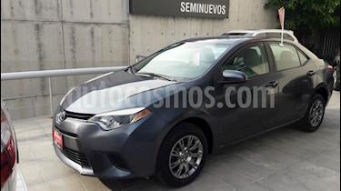 Foto venta Auto Usado Toyota Corolla Base Aut (2016) color Gris Metalico precio $225,000