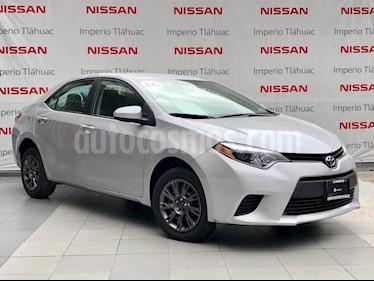 Foto venta Auto Seminuevo Toyota Corolla Base Aut (2016) color Plata precio $195,000