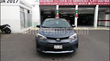 Foto venta Auto Seminuevo Toyota Corolla Base (2015) color Gris Metalico precio $184,000