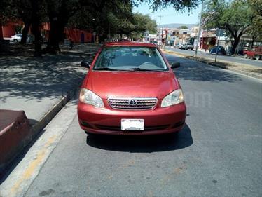 Foto venta Auto usado Toyota Corolla CE 1.8L (2007) color Rojo precio $80,000