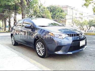 Toyota Corolla CE 1.8L usado (2014) color Azul precio $169,000