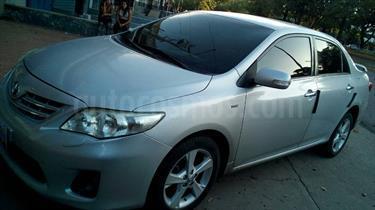 Foto venta carro usado Toyota Corolla GLi 1.8L Aut (2012) color Plata precio u$s9.800