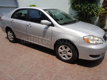 Foto venta Auto usado Toyota Corolla LE 1.8L Aut (2008) color Gris Plata  precio $89,500