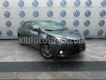 Foto venta Auto Usado Toyota Corolla LE 1.8L Aut (2014) color Gris precio $194,000