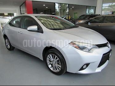 Foto venta Auto Usado Toyota Corolla LE 1.8L Aut (2014) color Plata precio $210,000