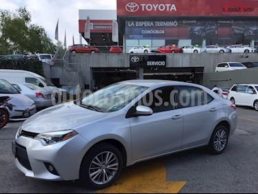 Foto venta Auto Usado Toyota Corolla LE 1.8L Aut (2014) color Plata precio $199,900