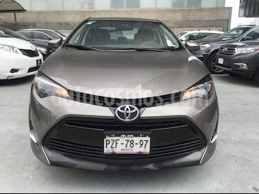 Foto venta Auto Seminuevo Toyota Corolla LE 1.8L Aut (2017) color Cafe precio $259,000