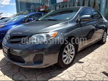 Foto venta Auto Seminuevo Toyota Corolla LE 1.8L (2013) color Gris precio $155,000