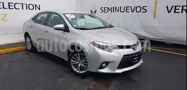 Foto venta Auto Usado Toyota Corolla LE Aut (2014) color Plata precio $185,000