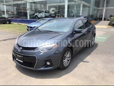 Foto venta Auto Seminuevo Toyota Corolla S Aut (2014) color Gris precio $194,900