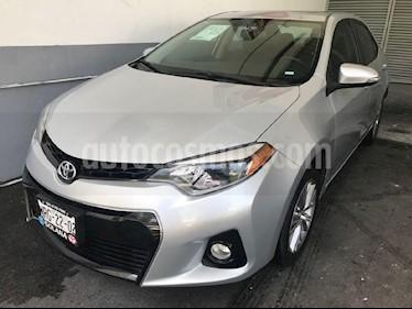 Foto venta Auto Usado Toyota Corolla S Plus Aut (2014) color Plata precio $219,900