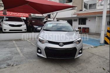 Foto venta Auto Seminuevo Toyota Corolla S (2016) color Plata Metalico precio $235,000