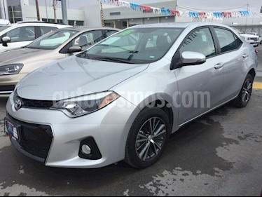 Foto venta Auto usado Toyota Corolla S (2016) color Plata precio $246,000