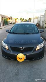 Foto venta Auto usado Toyota Corolla XLE 1.8L (2009) color Gris Oscuro precio $105,000