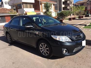 Toyota Corolla  Xli 1.6L usado (2011) color Negro precio u$s9,700
