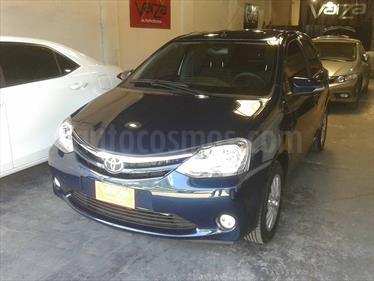 Foto venta Auto Usado Toyota Etios Hatchback XLS (2016) color Azul Catalina precio $246.500