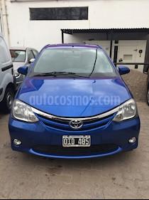 Foto venta Auto Usado Toyota Etios Hatchback XLS (2014) color Azul Cobalto Metalizado
