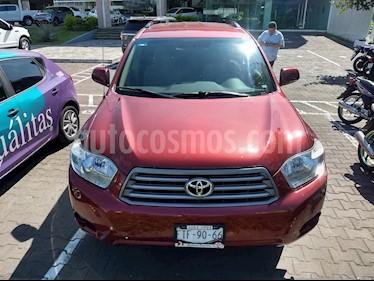 Foto venta Auto Seminuevo Toyota Highlander Base Premium (2010) color Rojo precio $190,000