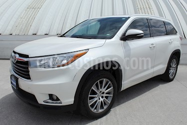 Foto venta Auto Seminuevo Toyota Highlander Limited Panoramic Roof (2015) color Blanco Perla precio $459,000