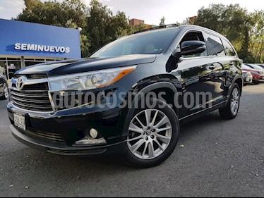 Foto venta Auto Usado Toyota Highlander Limited (2016) color Negro precio $450,000