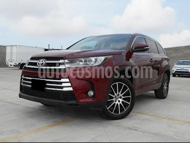 Foto venta Auto Seminuevo Toyota Highlander Limited (2017) color Rojo precio $610,000