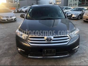 Foto venta Auto Seminuevo Toyota Highlander Limited (2012) color Gris precio $245,000