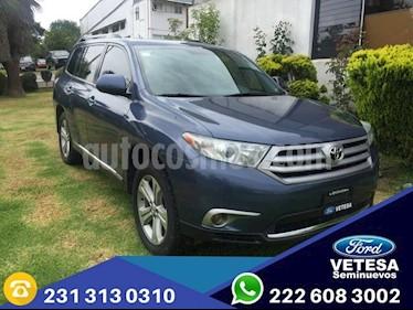Foto venta Auto Seminuevo Toyota Highlander Premium (2013) color Azul precio $270,000
