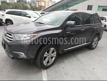 Foto venta Auto Seminuevo Toyota Highlander Premium (2013) color Gris precio $319,000