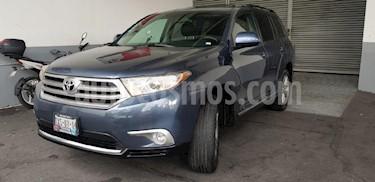 Foto venta Auto Seminuevo Toyota Highlander Premium (2013) color Azul precio $269,900