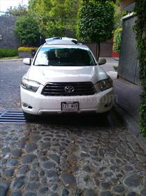 Foto venta Auto Seminuevo Toyota Highlander Sport Premium (2010) color Blanco precio $190,000