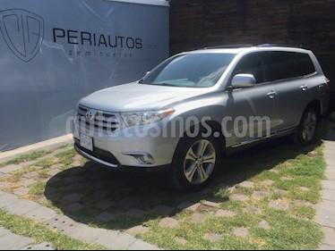 Foto venta Auto Seminuevo Toyota Highlander Sport Premium (2012) color Gris Plata  precio $244,000
