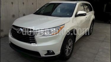 Foto venta Auto Usado Toyota Highlander XLE (2014) color Blanco Perla precio $399,000