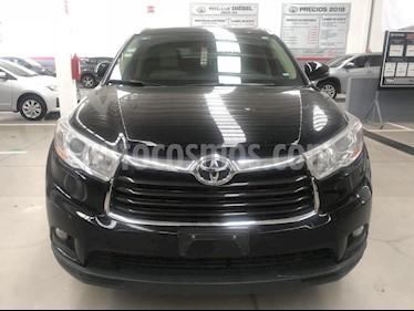 Foto venta Auto Seminuevo Toyota Highlander XLE (2015) color Negro precio $399,000