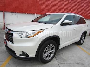 Foto venta Auto Seminuevo Toyota Highlander XLE (2015) color Blanco Perla precio $440,000