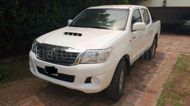 Foto venta Auto Usado Toyota Hilux Cover 2.5 4x2 TD SC Con aberturas DX Pack (2014) color Blanco precio $430.000