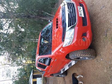 Toyota Hilux 2.4 4x4 DX Diesel usado (2013) color Rojo precio $12.300.000