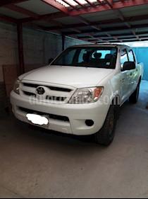 Toyota Hilux 2.4 4x4 DX Diesel usado (2009) color Blanco precio $7.500.000