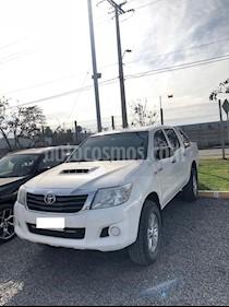 Toyota Hilux 2.5 4X2 Cabina Doble  usado (2014) color Blanco precio $12.300.000