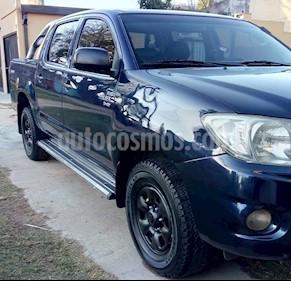 Foto venta Auto Usado Toyota Hilux 2.5 4x2 DX DC (2010) color Azul