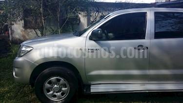 Foto venta Auto Usado Toyota Hilux 2.5 4x2 DX DC (2010) color Gris Oscuro