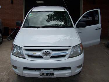 Foto venta Auto Usado Toyota Hilux 2.5 4x2 DX Pack DC (2008) color Blanco precio $230.000