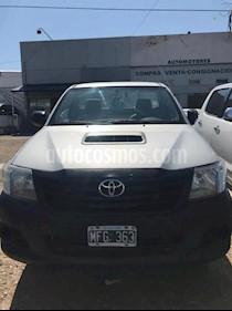 Foto venta Auto usado Toyota Hilux 2.5 4x2 DX Pack DC (2013) color Gris Oscuro precio $450.000