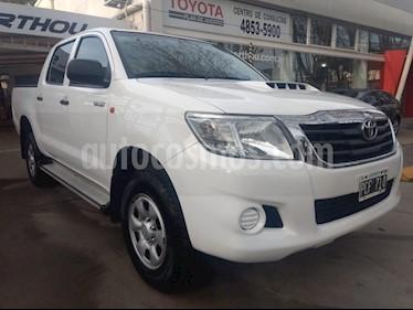 Foto venta Auto Usado Toyota Hilux 2.5 4x2 DX TDi Pack DC (2015) color Blanco precio $560.000